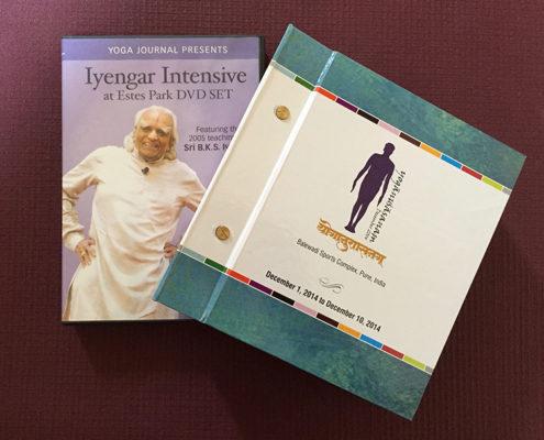 "Image result for Yoga Journal Presents - Iyengar Intensive at Estes Park DVD Set"""
